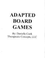Adapted Board Games